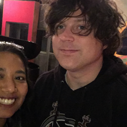 Ryan Adams and Alisa Ali at Electric Lady Studios