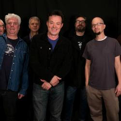 The James Hunter Six with Darren DeVivo in Studio A (photo by Brian Gallagher/WFUV)