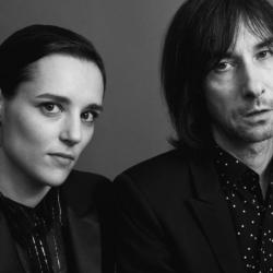 Jehnny Beth and Bobby Gillespie (photo by Sarah Piantadosi, PR)