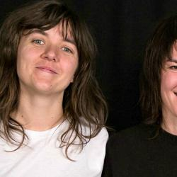 Courtney Barnett and Jen Cloher (photo by Kristen Riffert/WFUV)