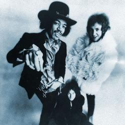 Jimi Hendrix Experience promotional photo (photo via Wikimedia from Warner/Reprise)