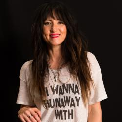 KT Tunstall in Studio A (photo by Brian Gallagher/WFUV)