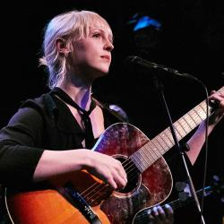 Laura Marling at Rockwood Music Hall (photo by Gus Philippas/WFUV)