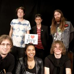 Mikal Cronin and band with Alisa Ali