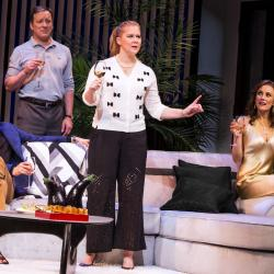 Keegan-Michael Key, Jeremy Shamos, Amy Schumer, Laura Benanti (Photo by Matthew Murphy)