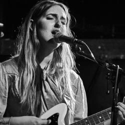 The Joni Project's Madison Cunningham at Rockwood Music Hall (photo by Gus Philippas/WFUV)