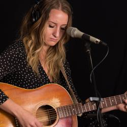 Margo Price in Studio A (photo by Kristen Riffert/WFUV)