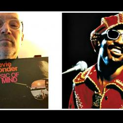 Marshall Crenshaw (photo by Marshall Crenshaw) and Stevie Wonder (courtesy of Motown Records, PR)
