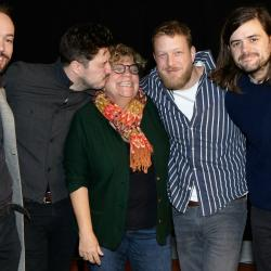 Mumford & Sons with WFUV's Rita Houston