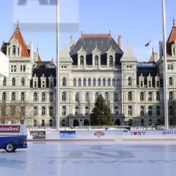 AP Image of the NY State Capitol