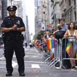 AP Image of NYPD
