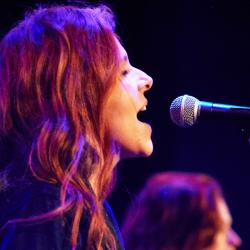 Neko Case at Littlefield (photo by Gus Philippas/WFUV)