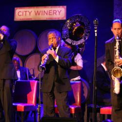 Preservation Hall Jazz Band at City Winery (photo by Laura Fedele/WFUV)