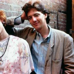 'Pretty in Pink' cast members Molly Ringwald, Andrew McCarthy and John Cryer (photo courtesy Paramount Pictures, official site on Facebook.com)