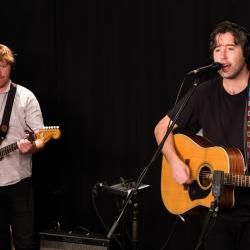 Rolling Blackouts Coastal Fever in Studio A (photo by Kay Kurkierewicz/WFUV)