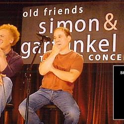 Art Garfunkel and Paul Simon at The Bottom Line in 2003