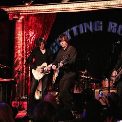 Son Volt at The Cutting Room (photo by Gus Philippas/WFUV)