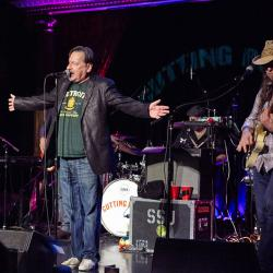 Southside Johnny and The Asbury Jukes at The Cutting Room (photo by Gus Philippas/WFUV)