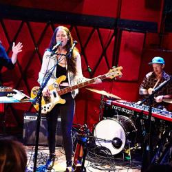 The Staves at Rockwood Music Hall (Photo by Gus Philippas)