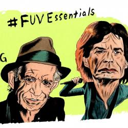 The Rolling Stones (illustration by Andy Friedman)