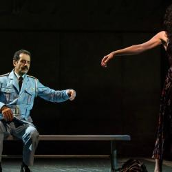 Tony Shalhoub and Katrina Lenk (photo by Matthew Murphy)