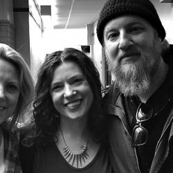 Susan Tedeschi, Carmel Holt and Derek Trucks at WFUV