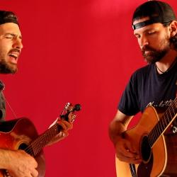 The Avett Brothers, performing live for FUV