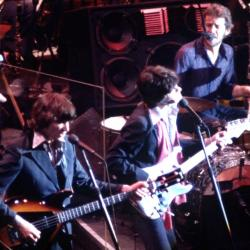 """The Band in """"The Last Waltz."""""""