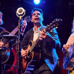 The Lone Bellow at Rockwood Music Hall (photo by Gus Philippas/WFUV)