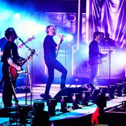 The National at Forest Hills Stadium (photo by Gus Philippas/WFUV)