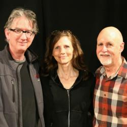 Jim Henry, Tracy Grammer, John Platt (Photo by Jeremy Rainer, WFUV)