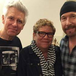 Adam Clayton & The Edge of U2 with Rita Houston