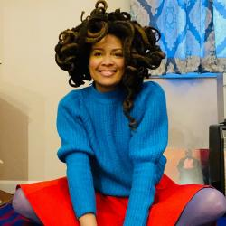 """""""Marquee Live at Home"""" with Valerie June (photo courtesy of the artist)"""