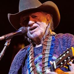 Willie Nelson at Celebrate Brooklyn (photo by Gus Philippas/WFUV)