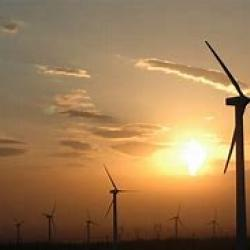 Public Domain Image of Wind Power Facility