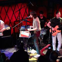 Yeasayer in a WFUV performance