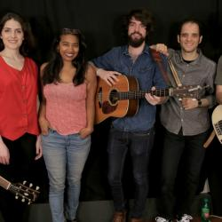 Anthony D'Amato and band with Alisa Ali