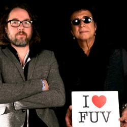Hear an FUV Live session with Andy Kim & Kevin Drew tonight at 9.