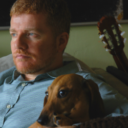 The dog didn't make the trip to FUV, but A.C. Newman did. Hear songs from his new album, 'Shut Down The Streets,' tonight on Words & Music.