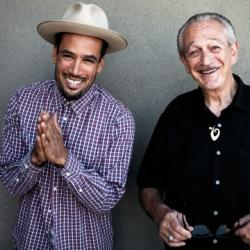 Ben Harper and Charlie Musselwhite (photo by Danny Clinch/PR)