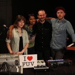 Hear an FUV Live session with the Great Scots, Chvrches tonight at 9.
