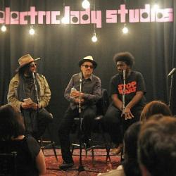 Tonight at 9, Don Was interviews Elvis Costello and Ahmir 'Questlove' Thompson for an inside look at 'Wise Up Ghost.'