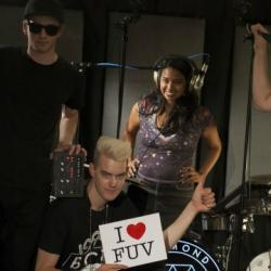 Fridays on FUV, Take Five with The Alternate Side. This week: Diamond Rings.