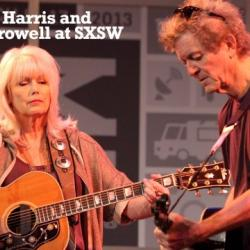 Emmylou Harris and Rodney Crowell at SXSW