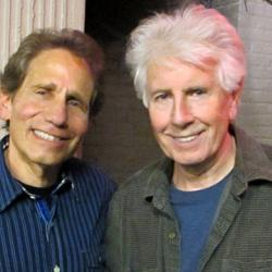 Dennis Elsas with Graham Nash