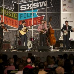 Today's WFUV show at SXSW: Punch Brothers (above), Gary Clark, Jr. and Shearwater.