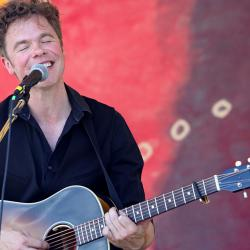 Hear a live concert with Josh Ritter from this year's Clearwater Festival tonight at 9.