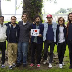 Russ Borris hosts, Junip in Studio A for an FUV Live Session tonight at 9