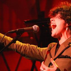 Tonight at 9pm on Words & Music: Hear a big voice on a small stage, with LP recorded live at Rockwood Music Hall.