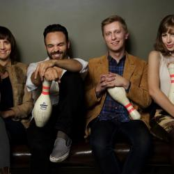 The charming Lake Street Dive, take a listen to this buzzworthy quartet before they hit Holiday Cheer Wednesday.